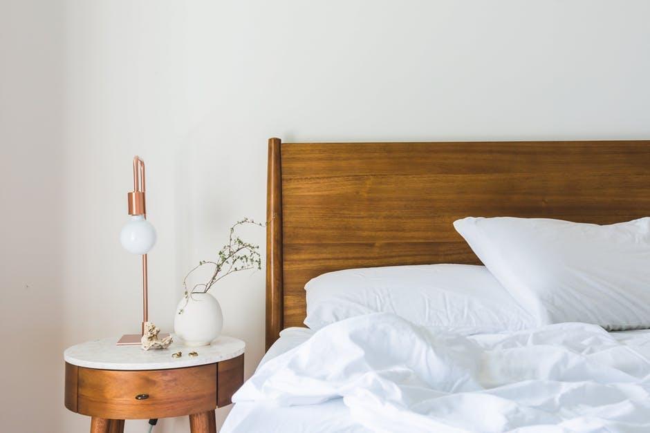 bed, bedroom, blanket
