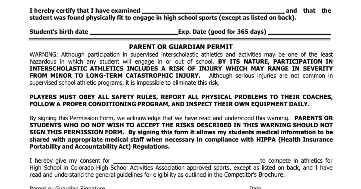 sports physical form colorado  NHS Physical form.pdf - Google Drive