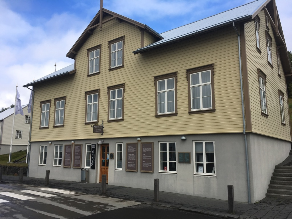 Fáskrúðsfjörður reconstruit la maison du médecin