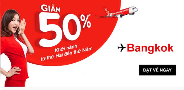 Tại TPHCM hiện có 6 hãng hàng không có chuyến bay tới Bangkok