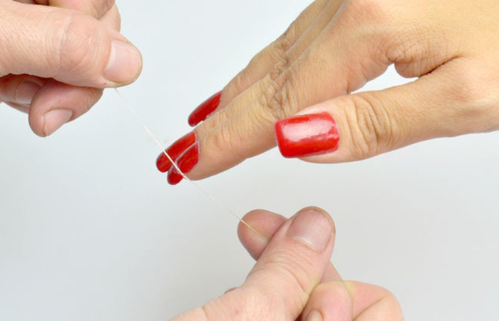 Remove Acrylic Nails with Floss