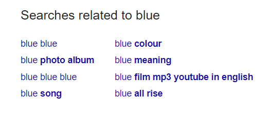 Searches Related to Blue