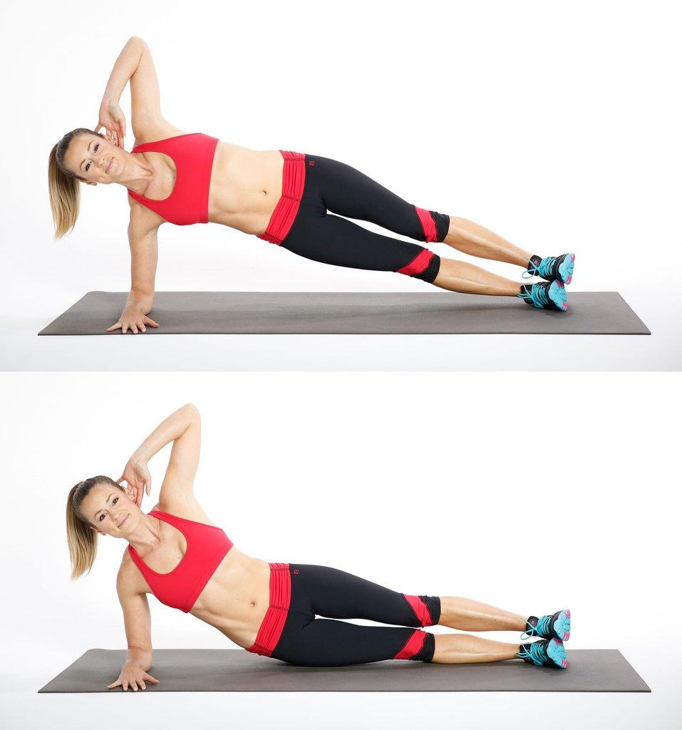 Side Plank with Hip Dips