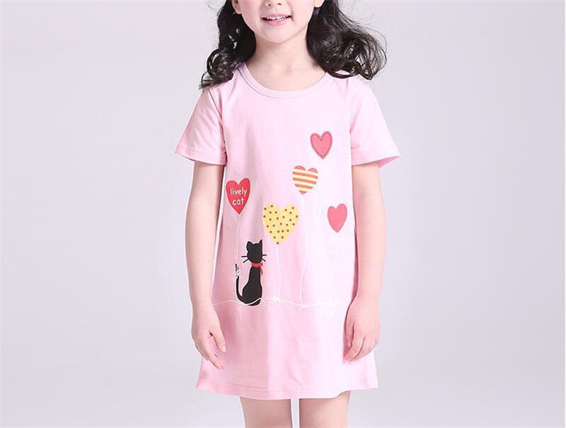 Koszulki nocne dla dziewczynek