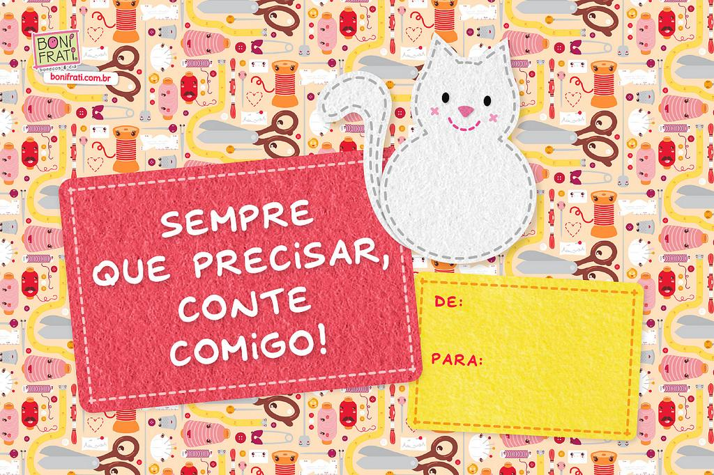 cartão para amigo