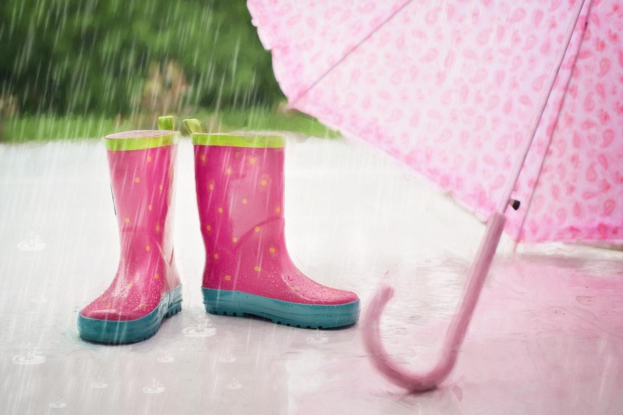 , Prep the kids for rain with some colourful accessories