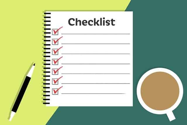 blogging checklist for seo friendly content