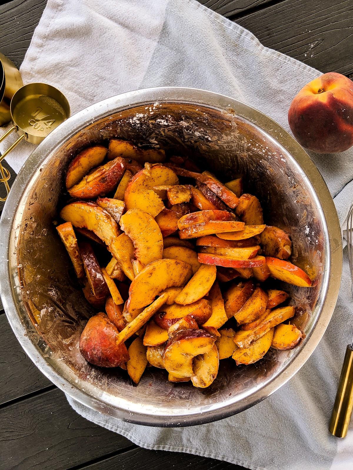 healthy peach cobbler filling weight watchers low sugar peach cobbler