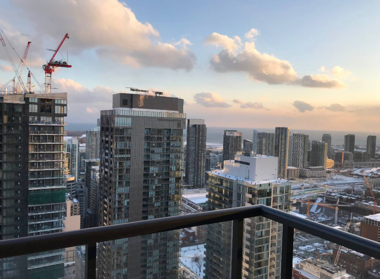 Room in toronto with a view