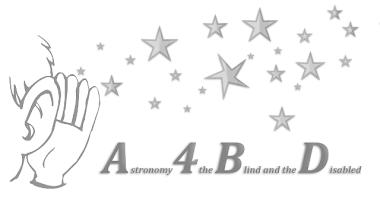 """Projekts """"Astronomija neredzīgajiem un cilvēkiem ar invaliditāti"""" - A4BD"""