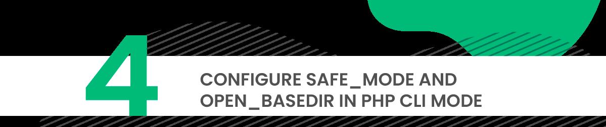 directadmin security tip 4 safe mode