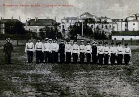 Кадеты Питербургского корпуса