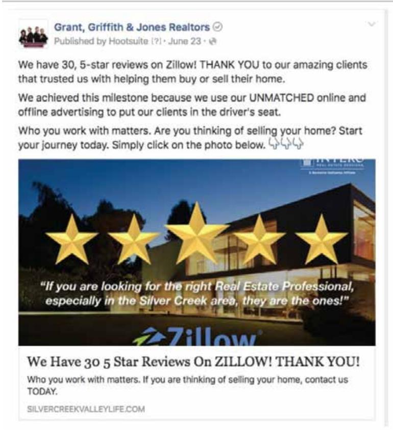 exemple publicité Facebook immobilier 3