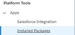 SFMC Packages