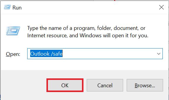 Outlook stuck on loading profile Windows 10