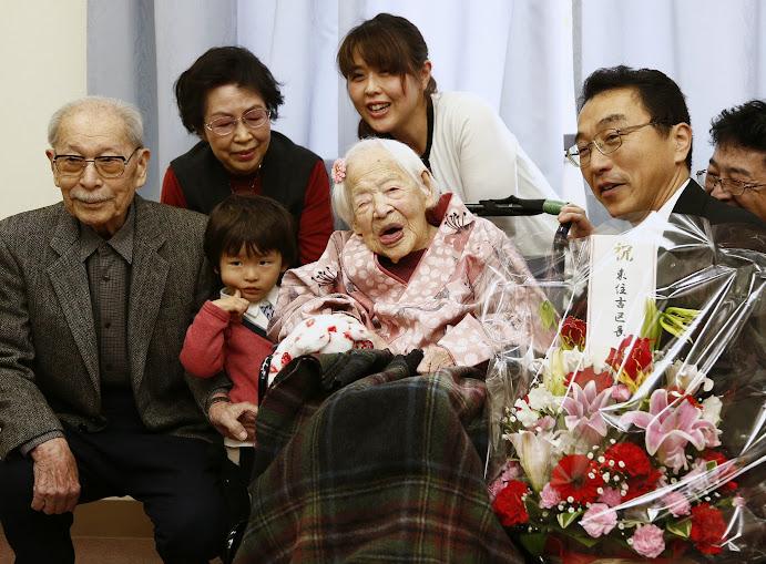 sinh nhật cụ bà misao okawa