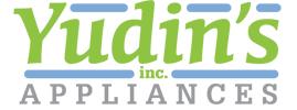 Yudin's Discount Appliances Logo