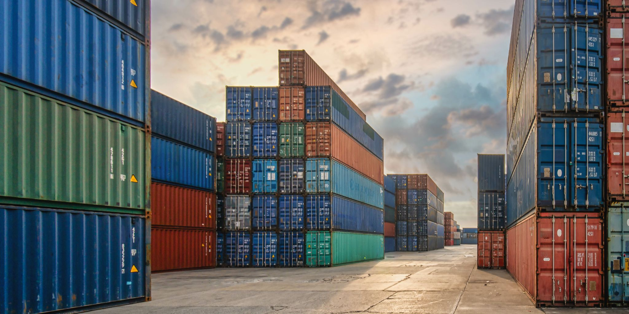 Where have all the shipping containers gone?