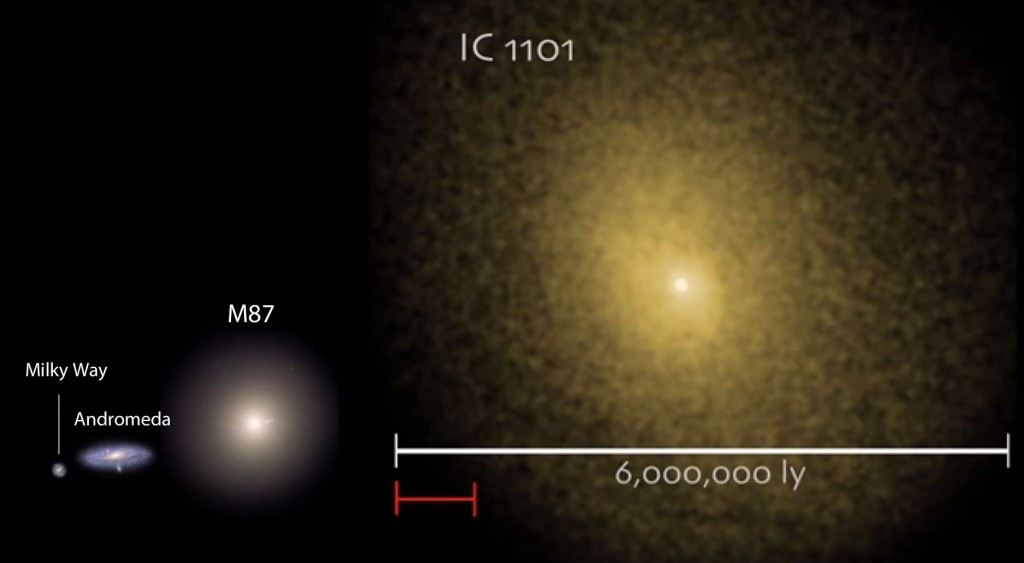 IC 1101 size