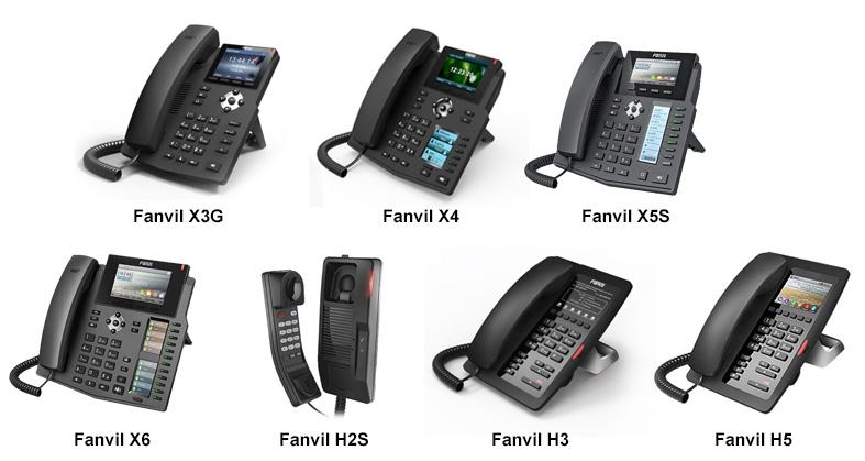 Cách khôi phục cài đặt gốc cho dòng điện thoại ip Fanvil X và H