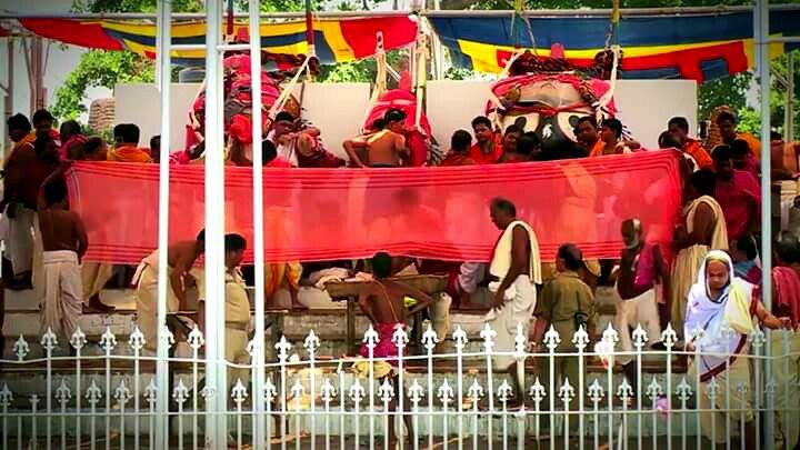 Abakash Ritual of Lord Jagannath