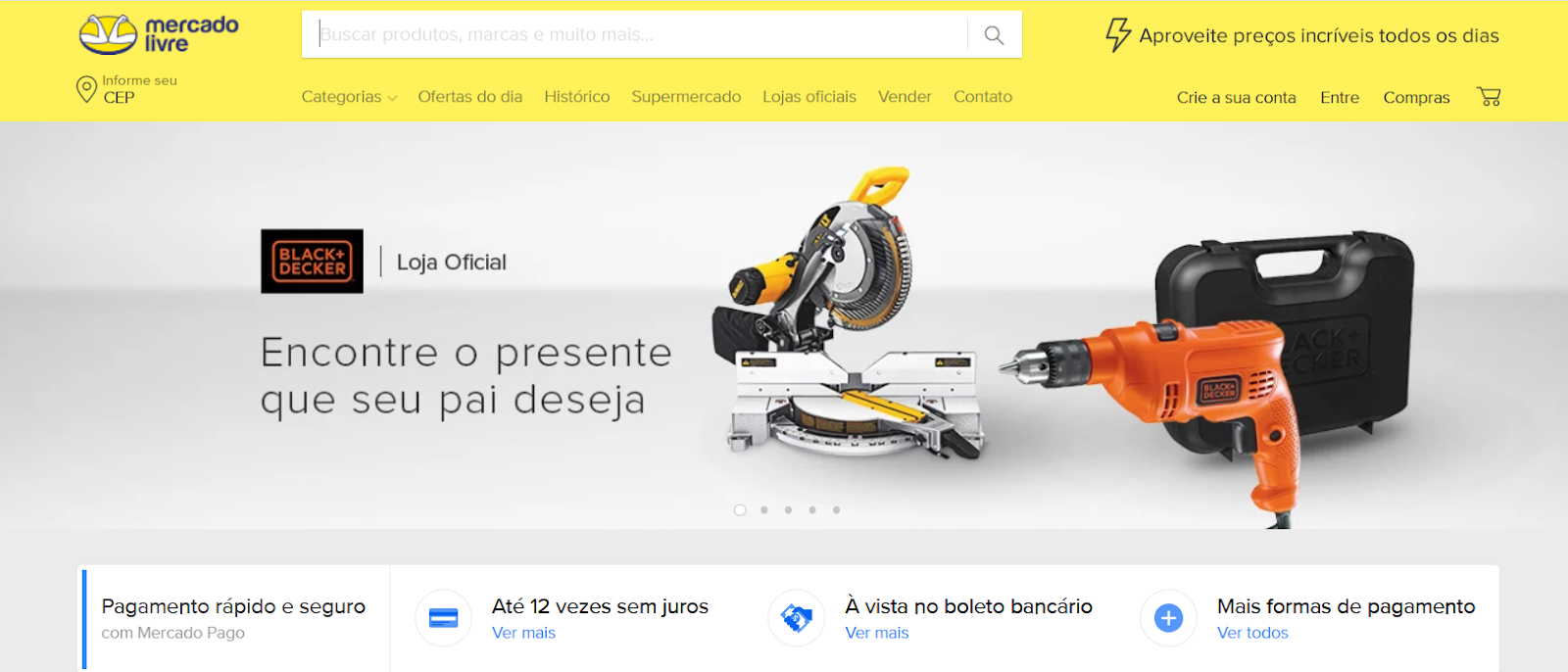top e-commerce sites in Brazil mercado livre