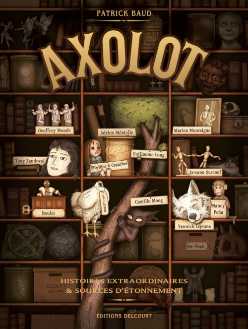 première bd d'axolot
