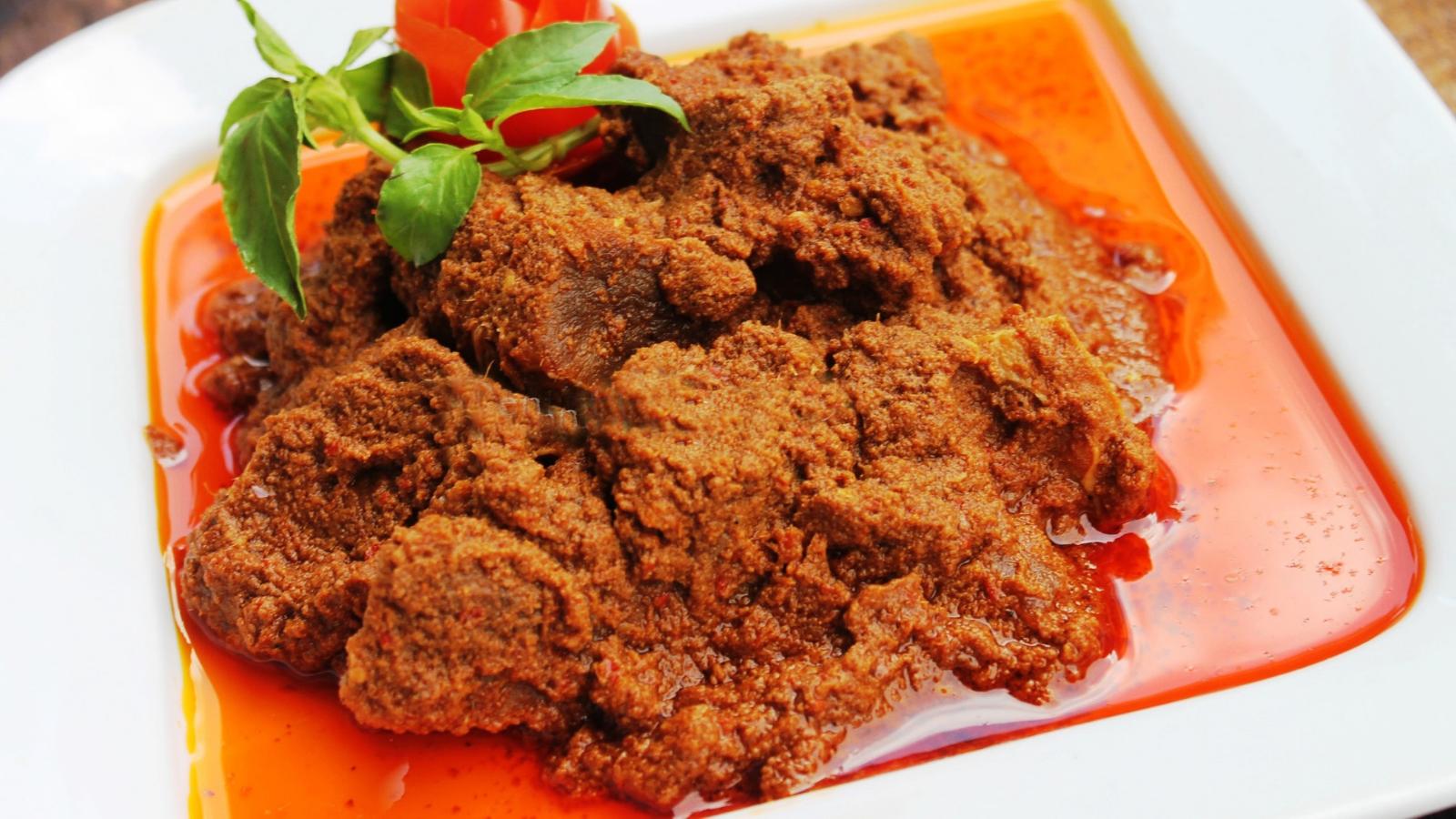 Thịt bò Rendang & Sambal