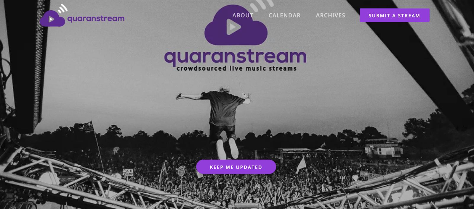 promote livestreams quaranstream
