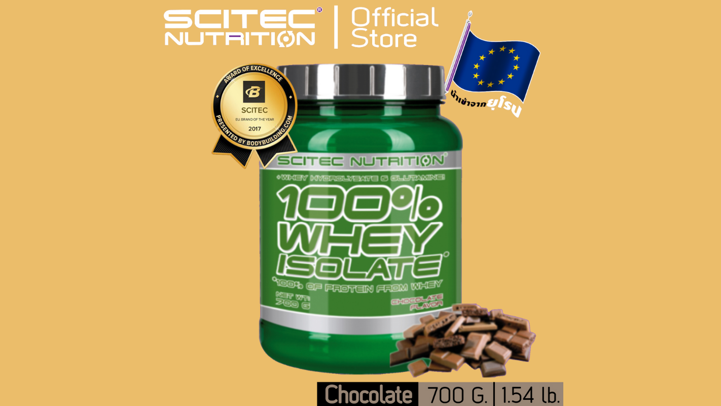 2. SCITEC NUTRITION Whey Protein Isolate