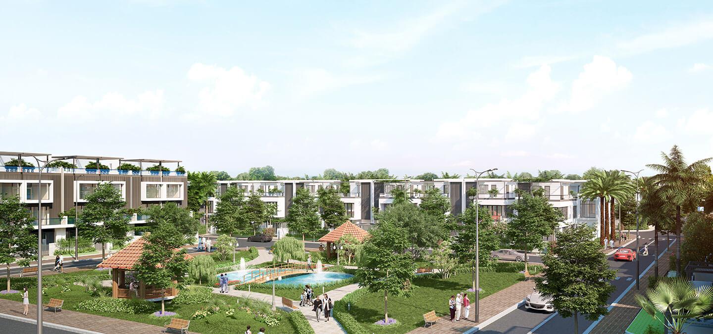 Dự án mang đến những không gian xanh cho căn hộ