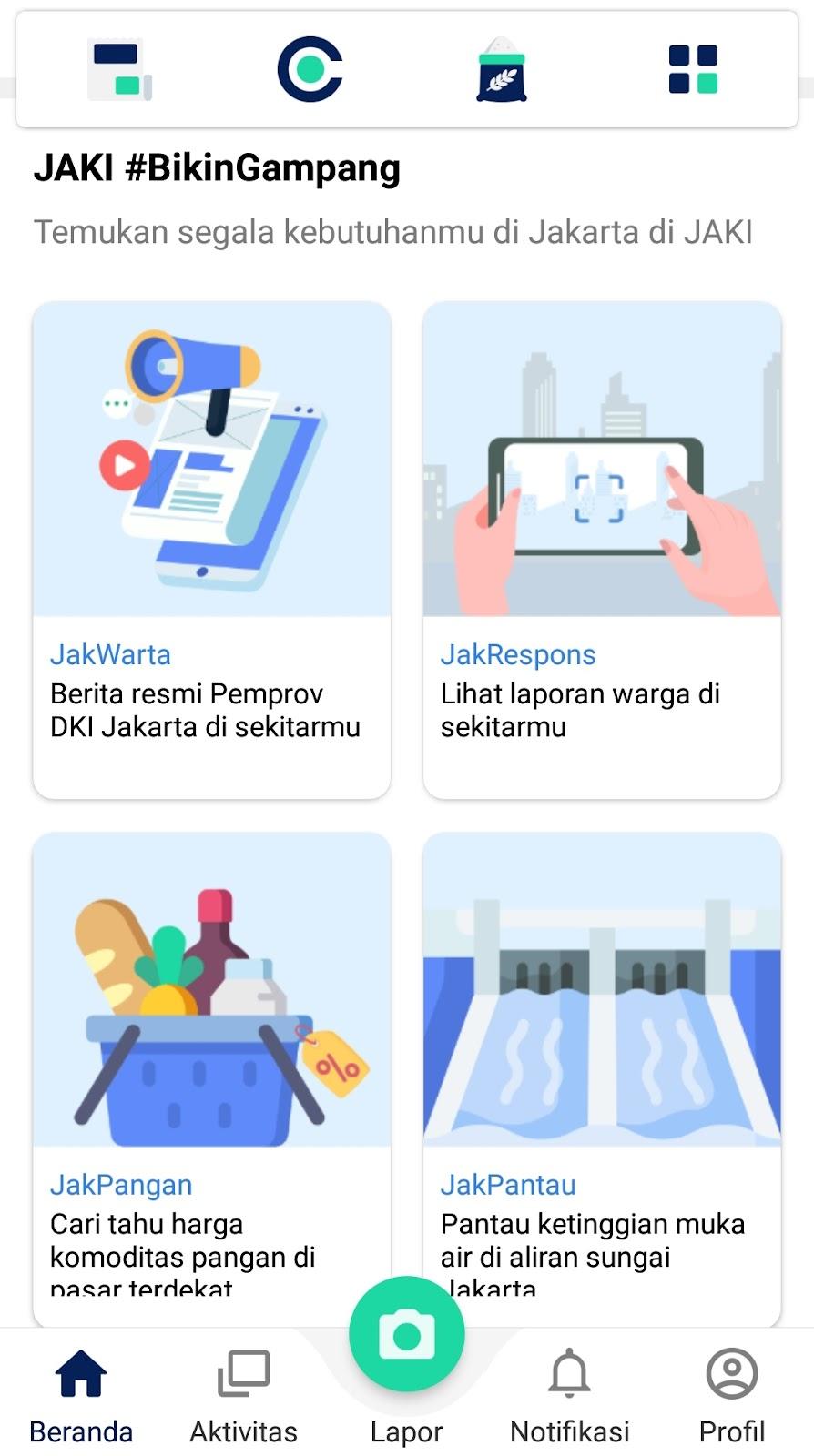JAKI, Jakarta Smart City, Jaklapor