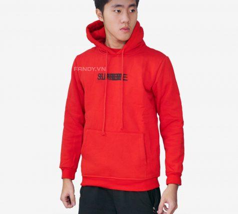 Áo Hoodie Supreme All Red