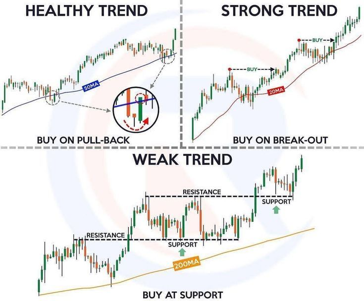 Here's how you can distinguish the trends