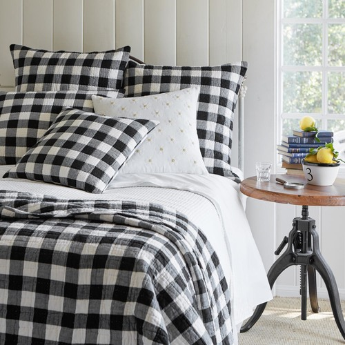 Buffalo check duvet cover and quilt