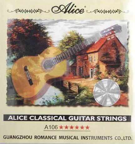 سیم چهارم گیتار تکی آلیس