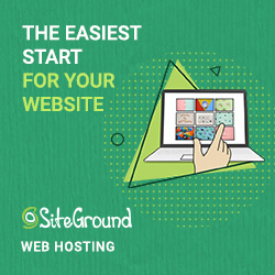 Siteground is the easiest way to start your blog