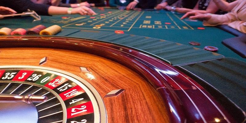 one roulette wheel