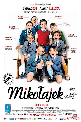Polski plakat filmu 'Mikołajek'