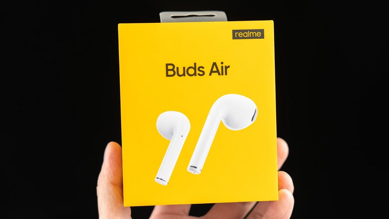 realme Buds Air 開箱 外觀設計很「致敬」