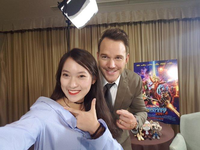 Cô gái Việt 'bắn' 7 ngôn ngữ với dàn sao Guardian of the Galaxy 2 - Tuổi  Trẻ Online