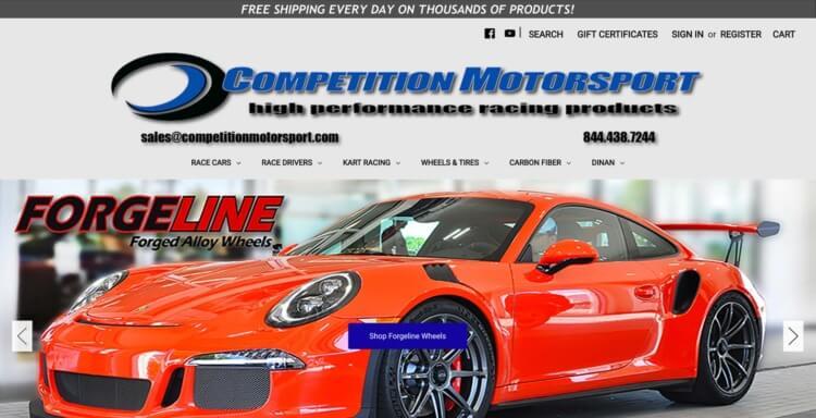 automotive ecommerce website