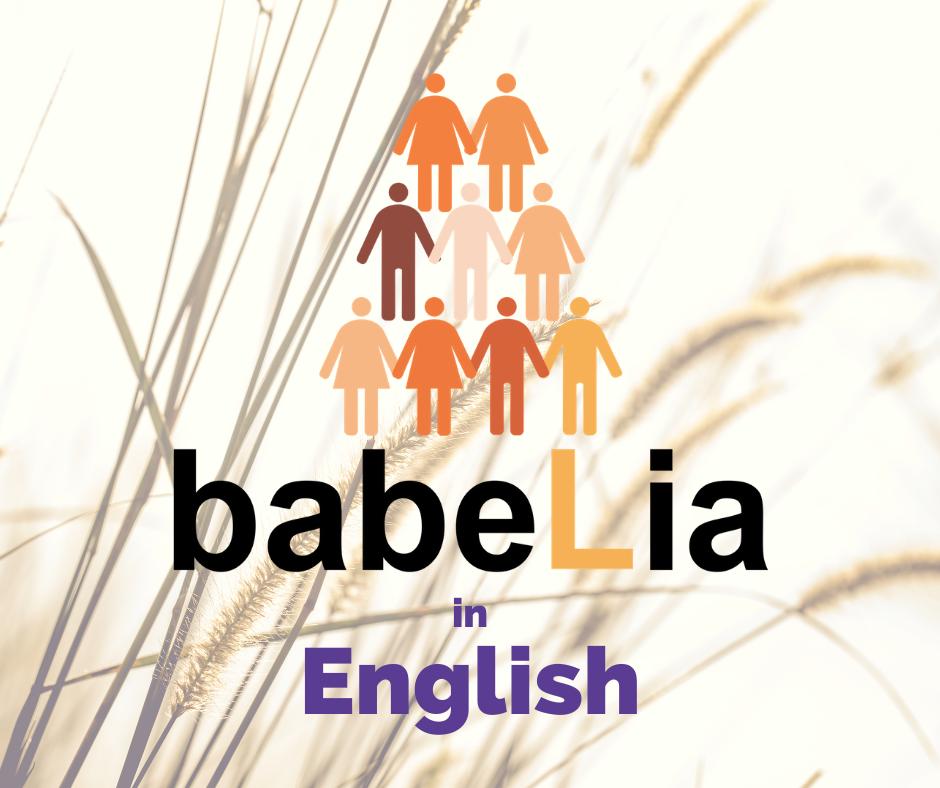 Logo Babelia in English