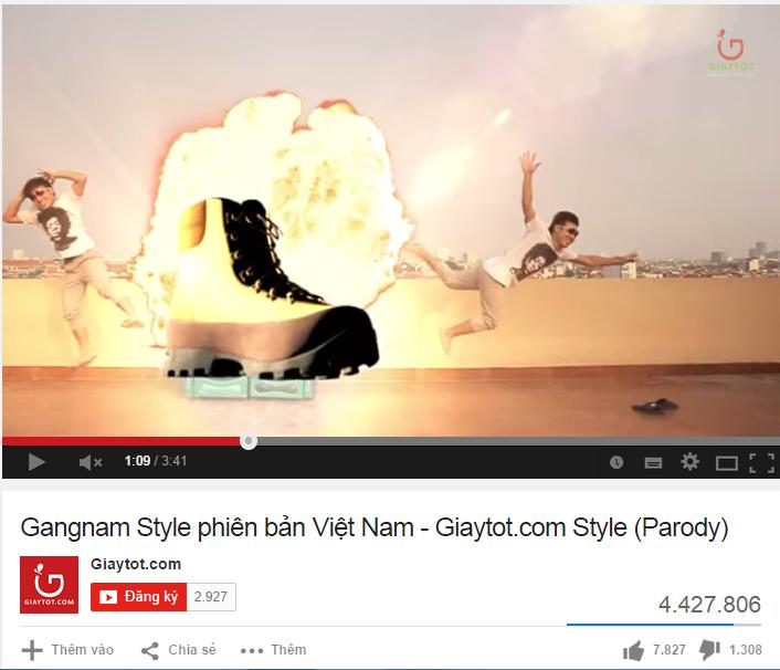 """Quảng cáo """"ăn theo"""" trào lưu Gangnam Style"""