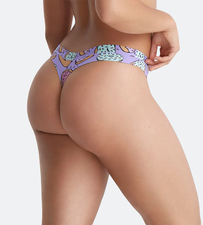 Me Undies FeelFree Thong: Check out these fun patterns to add a little unseen spice to wear under leggings