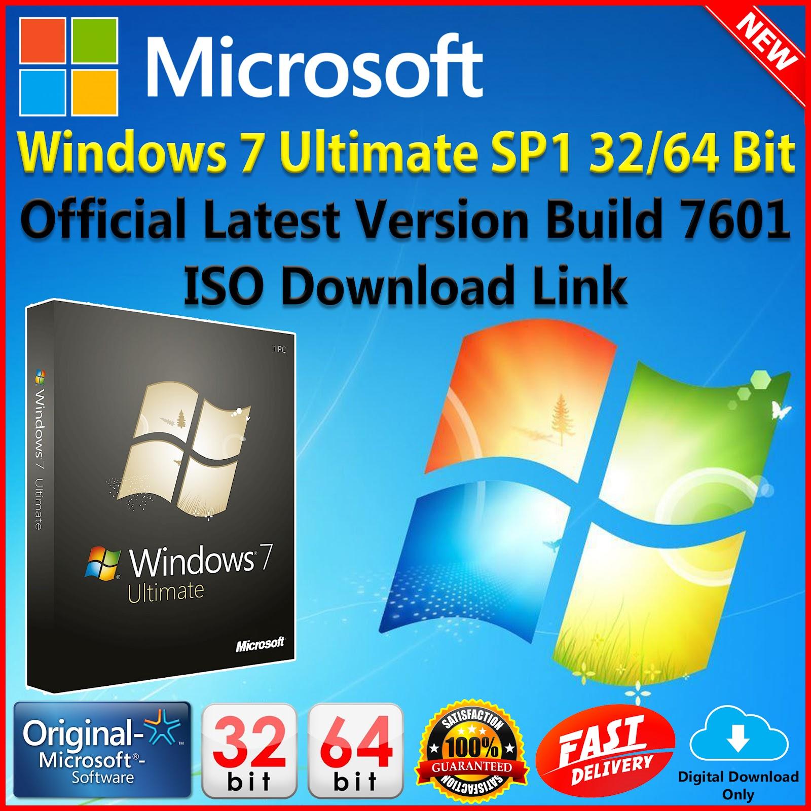 Windows 7 Ultimate SP1