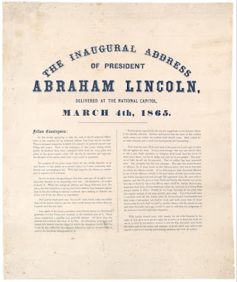lincoln second inaugural address analysis essay