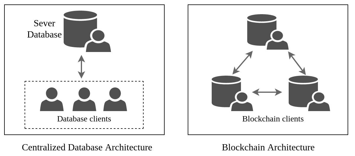 Database Architecture and Blockchain Architecture