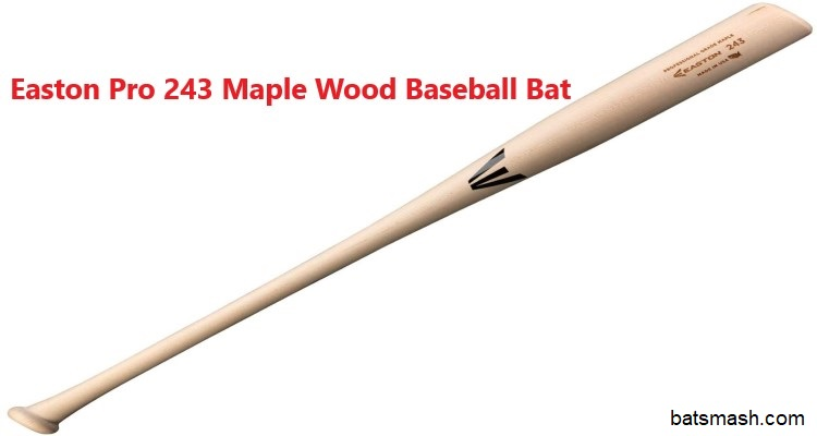 Pro 243 Traditional Easton Wooden Baseball Bat for Youth and High School