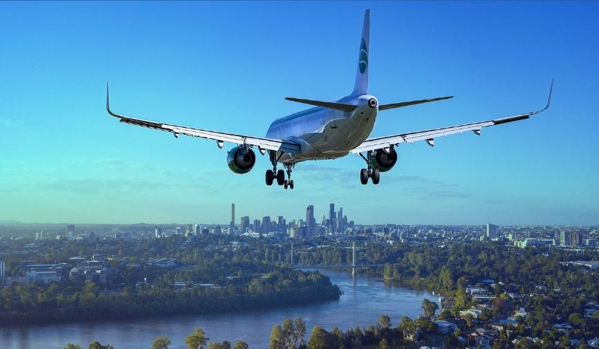Airplane as the fastest mean of travel according to many international moving guides.